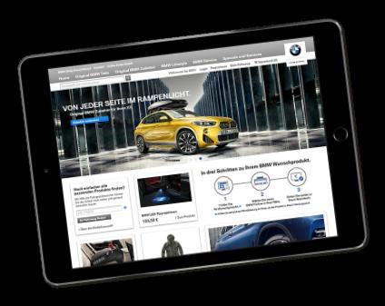 BMW Webseite