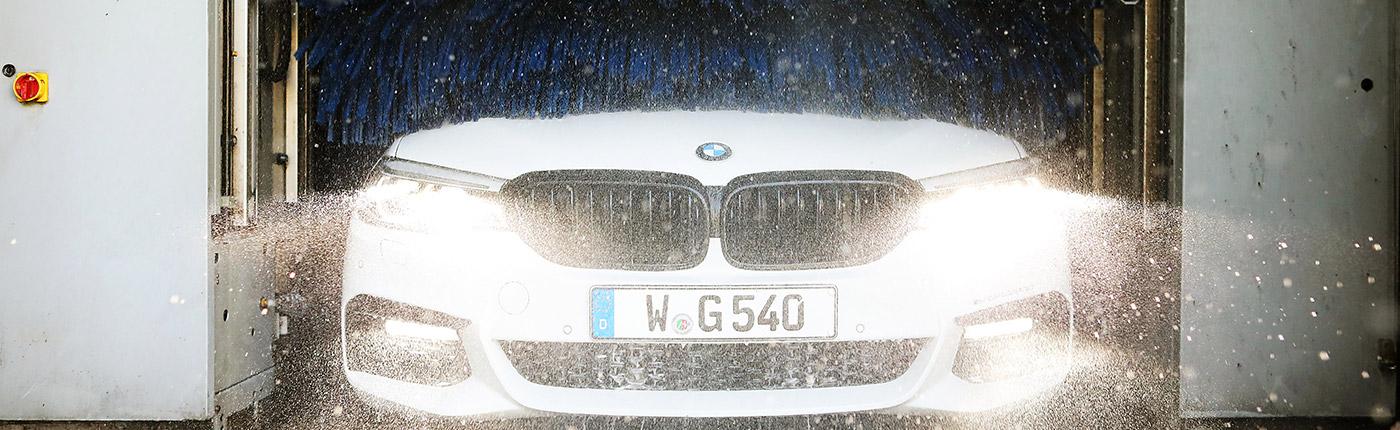 BMW Fahrzeugpflege