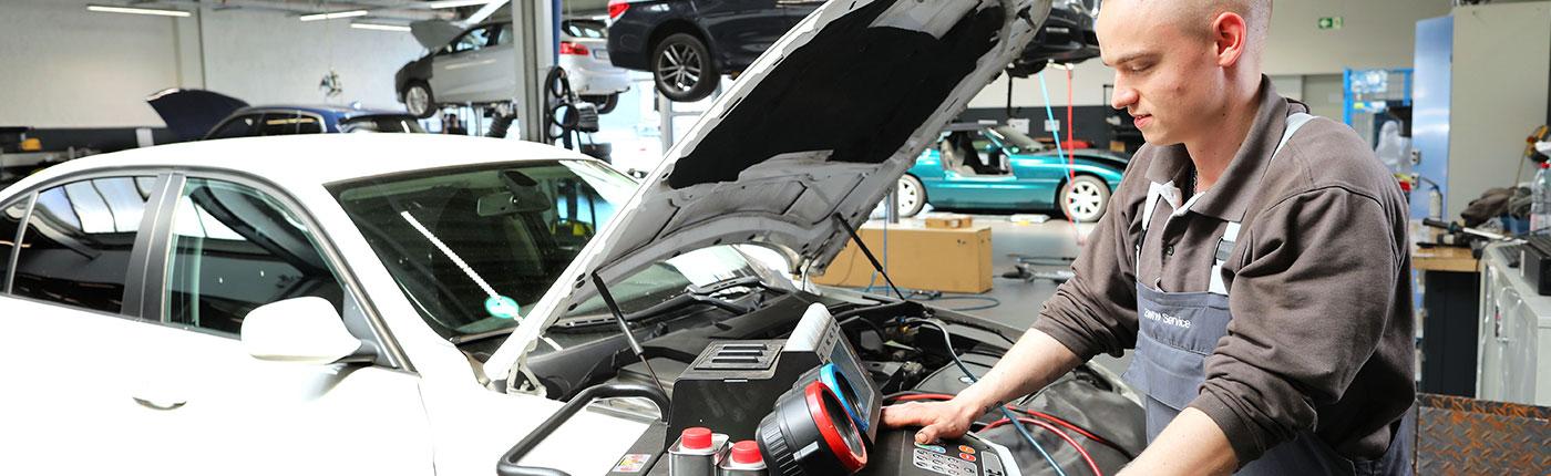 BMW Service Klimaanlage
