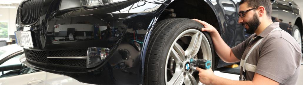 Reifenwechsel BMW